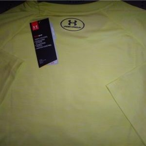 UNDER ARMOUR HEATHER VOLT TECH SHIRT 2XL XL L MEN NWT $$$$